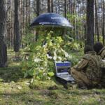 Aaronia Drohnen Detektionssystem im Einsatz
