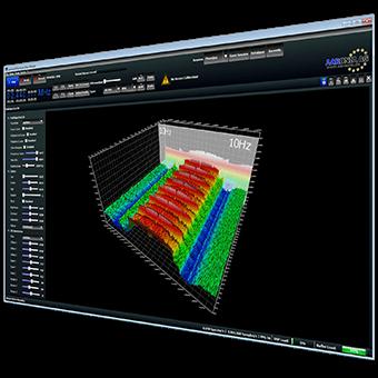 Echtzeit-Spektrumanalysator Software RTSA Suite
