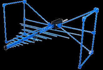 Direktionale Antennen HyperLOG EMI Serie von 20MHz bis 6GHz