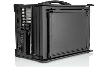 Ultimativer Echtzeit-Spektrumanalysator SPECTRAN V5 Command Center (geschlossen)
