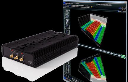 USB Echtzeit-Spektrumanalysator SPECTRAN V5 X mit Software